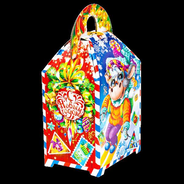 Новогодний подарок Новогодняя эстафета стоимостью 450 руб. и весом 1200 гр.