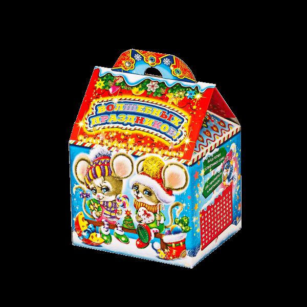 Новогодний подарок Парочка на лавочке стоимостью 210 руб. и весом 450 гр.