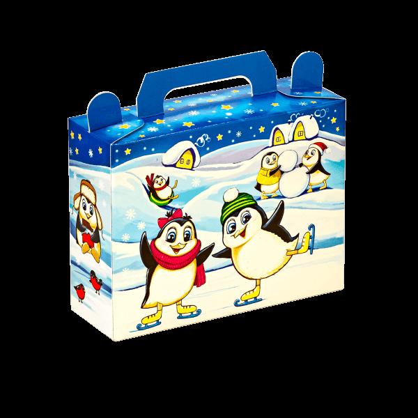 Новогодний подарок Пингвины стоимостью 155 руб. и весом 400 гр.