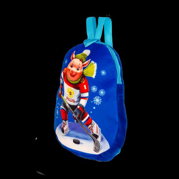 Новогодний подарок Рюкзак Хоккеист стоимостью 750 руб. и весом 800 гр.