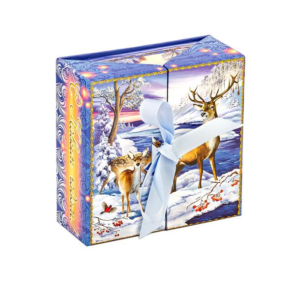 Новогодний подарок Лапландия стоимостью 750 руб. и весом 500 гр.