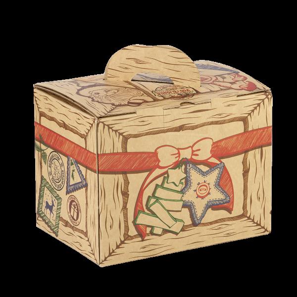 Новогодний подарок Сладкая бандероль стоимостью 450 руб. и весом 800 гр.