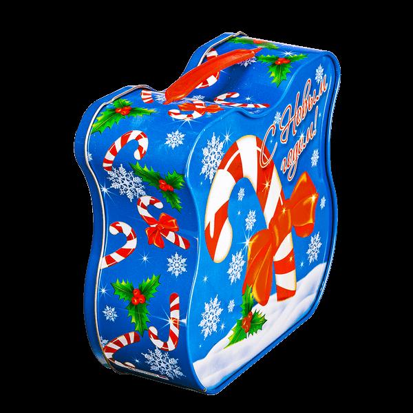 Новогодний подарок Сладкоежка стоимостью 400 руб. и весом 700 гр.