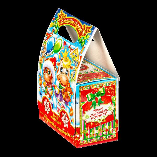 Новогодний подарок Сумочка Праздник стоимостью 299 руб. и весом 800 гр.