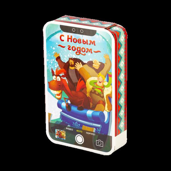 Новогодний подарок #ТриБогатыря стоимостью 500 руб. и весом 800 гр.