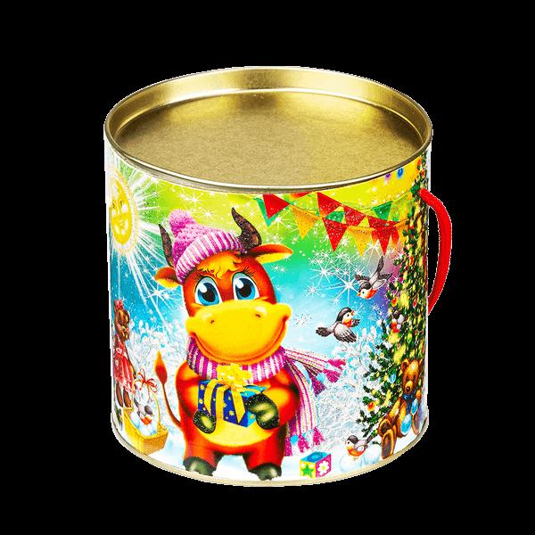Новогодний подарок Туба Лютик стоимостью 330 руб. и весом 500 гр.