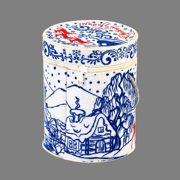 Новогодний подарок Туба Волшебница зима стоимостью 950 руб. и весом 700 гр.
