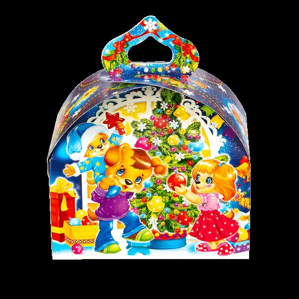 Новогодний подарок Игрушки под елкой стоимостью 299 руб. и весом 800 гр.