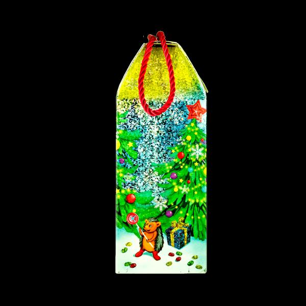 Новогодний подарок Сумочка Меломан стоимостью 400 руб. и весом 800 гр.