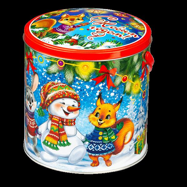 Новогодний подарок Душа компании стоимостью 610 руб. и весом 1000 гр.