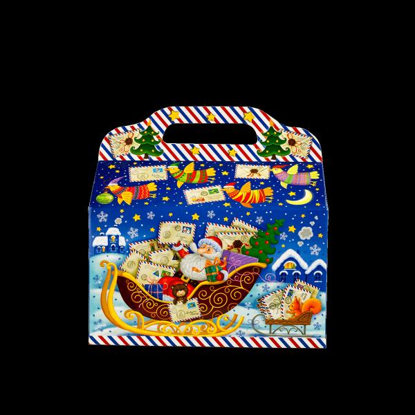Новогодний подарок Волшебная почта стоимостью 450 руб. и весом 900 гр.