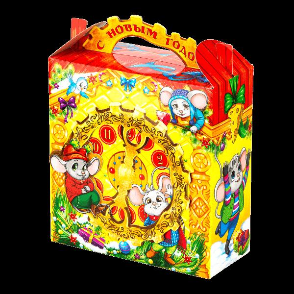 Новогодний подарок Время чудес мышки стоимостью 350 руб. и весом 650 гр.