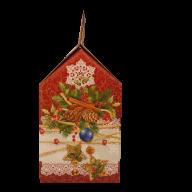 Третья миниатюра новогоднего подарка Морозные кружева
