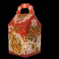 Четвертая миниатюра новогоднего подарка Морозные кружева