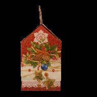 Седьмая миниатюра новогоднего подарка Морозные кружева