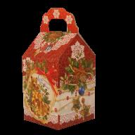 Восьмая миниатюра новогоднего подарка Морозные кружева