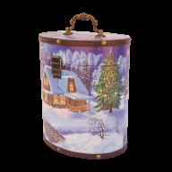 Четвертая миниатюра новогоднего подарка Туес большой