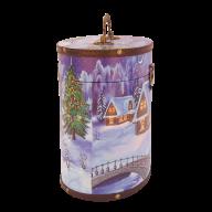 Седьмая миниатюра новогоднего подарка Туес большой