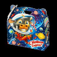 Новогодний подарок Космонавт стоимостью 450 руб. и весом 900 гр. гр.