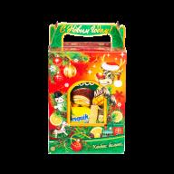миниатюра новогоднего подарка За окном