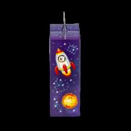 миниатюра новогоднего подарка Ракета