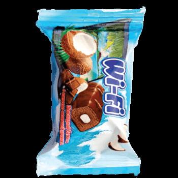 Фото Конфета Wi-fi с кокосовой начинкой